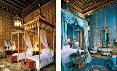 venetian palazzo interiors | Dodie Rosekrans_Palazzo Venice_Guest Bed_Master