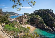 The Weekly Postcard: Tossa de Mar, Spain