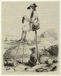 "bop-kabbalah: "" Shepherd resting on stilts and knitting """
