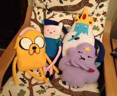 Adventure time plushes!