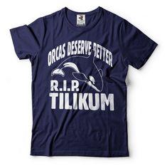 Orca T-Shirt RIP Tilikum Tee Shirt Support Orca Tilikum Tee Shirt