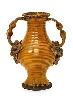 Talltuscan Italia Olive Jar Double Handle Vase | eBay