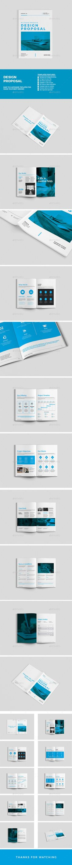 Sleman Clean Proposal Template Proposal templates, Proposals and - business proposal template word