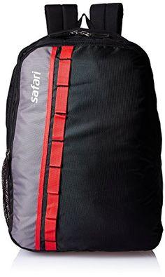Buy #7: Safari 25 Ltrs Black Casual Backpack (Jump 2 Black)