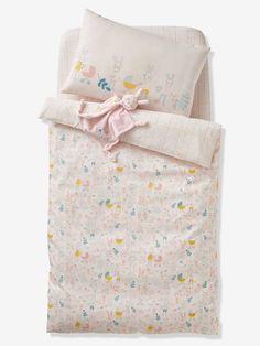 Vertbaudet Baby Bettbezug Hase Blumen In Zartrosa Bedruckt Bettbezug Bett Dekor Baby