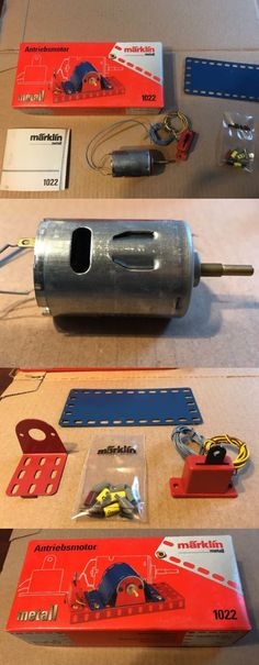 Pre-1980 724: *Sale* Marklin #1022 Motor - For Meccano, Erector, High Quality, Rare. -> BUY IT NOW ONLY: $64.95 on eBay! Vacuums, Home Appliances, Stuff To Buy, Shopping, Metal, House Appliances, Vacuum Cleaners, Kitchen Appliances