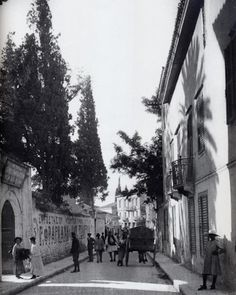 Attica Athens, Athens Greece, Old Pictures, Old Photos, Good Old Times, Old City, The Past, Street View, Around The Worlds