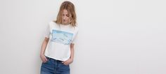 PRINTED T-SHIRT - NEW PRODUCTS - NEW PRODUCTS - WOMAN - PULL&BEAR Taiwan