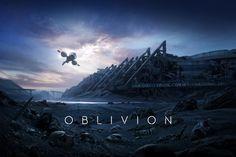 Oblivion   San Diego Comic-con Poster