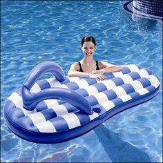 Flip flop floaty