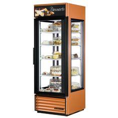 copper dessert refridgerator