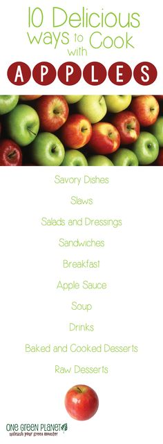 Vegan apple ideas.