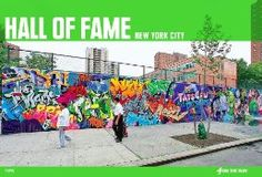 The birthplace of the style writing school of graffiti is New York City. This is the place where young writers first began to transform letters from simple tags on a wall to elaborate masterpieces of colorful and camoflauged letters embellished with characters that depicted friends and heroes alike.