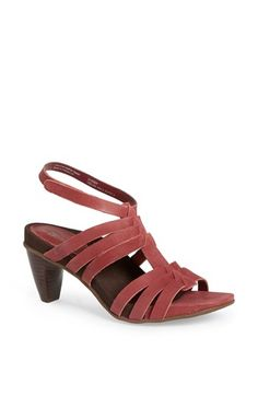 Aetrex 'Paige' Leather Sandal available at #Nordstrom