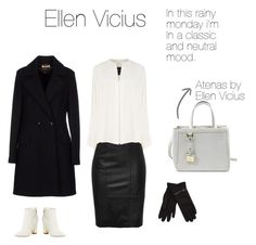 """Ellen Vicius monday look with Atenas"" by ellenvicius ❤ liked on Polyvore featuring Derek Lam, Beatrice.b, Giuseppe Zanotti and Isotoner"
