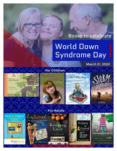 World+Down+Syndrome+Day Down Syndrome Day, Book Suggestions, What To Read, Little My, My Friend, Sisters, Let It Be, Reading, World