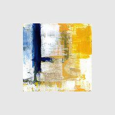 【今だけ☆送料無料】アートパネル抽象画1枚で1セット錆び塗装ブルーイエローオレンジ【納期】お取り寄せ2~3週間前後で発送予定