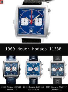 TAG Heuer Monaco McQueen Editions