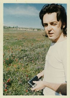 "1967mccartney: ""OFFTOPIC: An unseen picture of Paul McCartney taken by Linda McCartney circa 1970. """