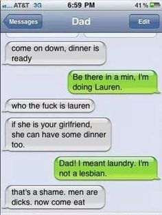Haha sounds like my dad! Haha but he wouldn't be serious Cute Texts, Funny Texts, Funny Jokes, Epic Texts, Random Texts, Awkward Texts, Haha, Message For Dad, Text Fails