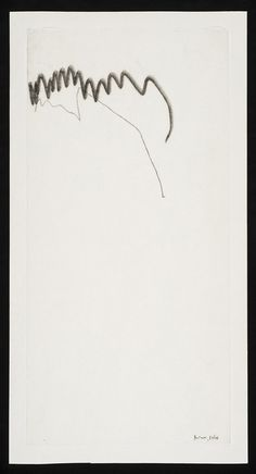 Mira Schendel, 'Untitled,' 1964, Graphie on rice paper, The Mayor Gallery