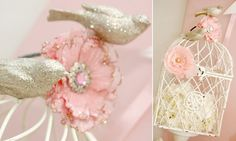 Pink Birdie Baby Shower {guest feature} — Celebrations at Home