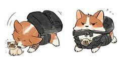 Kingsman: The Secret Service | Eggsy and J.B (Kingsdog: The Fluffy Service)