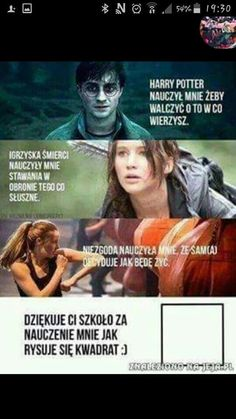 Read from the story Harry Potter Memy by -love-bomb- (♥) with reads. Wtf Funny, Funny Cute, Funny Memes, Jokes, Polish Memes, Text Memes, 5 W, Harry Potter Memes, Verse