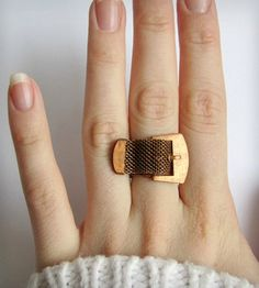 Vintage Buckle Up Ring