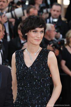 Clotilde Hesme #DESSANGE #Cannes2017 #CoiffeurOfficiel