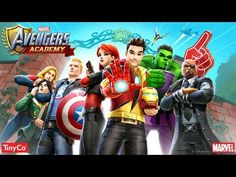 MARVEL AVENGERS ACADEMY Gameplay iOS / Android