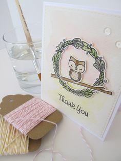 Charmed - Mama Elephant.  Card by Nicola