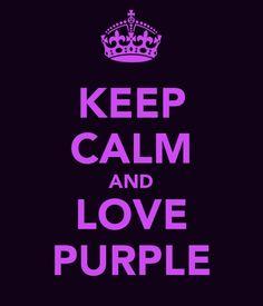 I Love Lovee Loveee Purple!