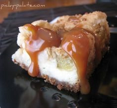 Caramel Apple Cream Cheese Cookie Bars.