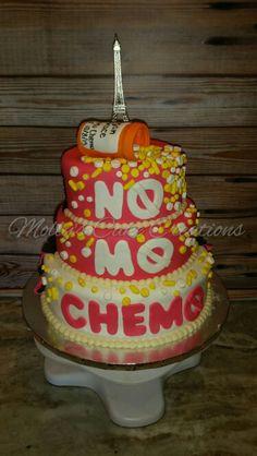 No More Chemo Party Invitations No More Chemo Cake