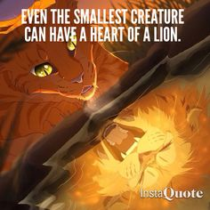 Firestar with the heart of a lion