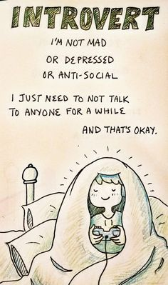 Stay true to yourself :) #introverts #infp