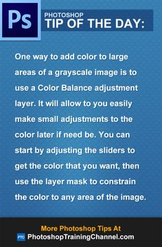 One way to add color to large areas of a grayscale image is to use a Color Balance adjustment layer. It will allow to you easily make small adjustments to the color later if need be. You can start by adjusting the sliders to get the color that you want, then use the layer mask to constrain the color to any area of the image.