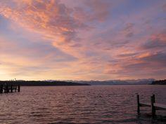 Sonnenuntergang am Starnberger See / Sunset on Lake Starnberg