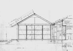 Guest Studio by Glenn Murcutt — Atlas of Places Light Architecture, Classical Architecture, Rustic Modern Cabin, Small Shower Room, Farm Shed, Contemporary Barn, Building A Container Home, Old Abandoned Houses, Interior Design Sketches
