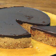 The Happy Pear's Healthier chocolate & salted caramel tart