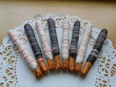 Chocolate Covered Pretzel Sticks  Chocolate by HolidayConfections, $7.50