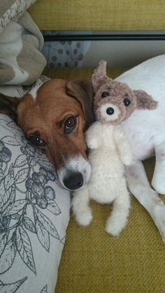 dog jack russell stuffed toy