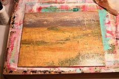 diy easy landscape painting