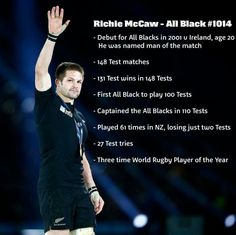 Richie McCaw announced his retirement from rugby today. All Blacks New Zealand. He will be missed. Rugby Union Teams, All Blacks Rugby Team, Nz All Blacks, Richie Mccaw, Jerome Kaino, Rugby Cup, Rugby Workout, Rugby Memes, Son Hak