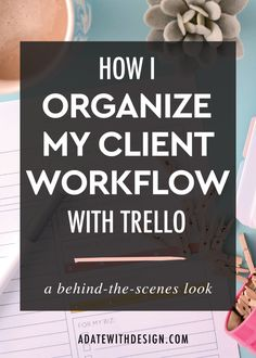 With Trello you can easily organize your client workflow and systems. Trello allows you to manage your clients and design workflow. Save this post for later!
