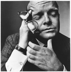 Truman Capote photo by Irving Penn, 1965