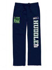 Seattle Seahawks - VS PINK.... love!  @Megan Mechelle i would definitely wear these!!