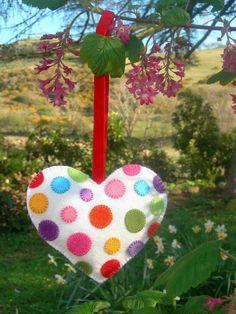 Cinnamon Heart - Polka Dot