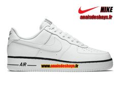 purchase cheap 002df b8511 Nike Air Force 1 Low Homme BlancNoirBlanc 488298-160